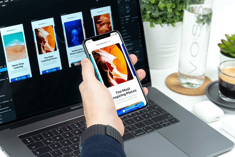 UI UX Design für Apps, Websiten und mehr