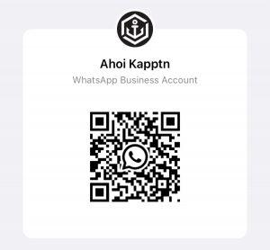 Ahoi Kapptn! WhatsApp Barcode